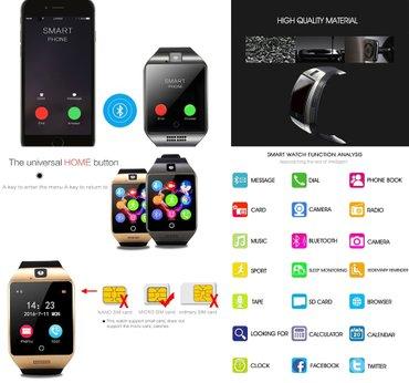 Najnoviji q18 smart watch - pametni sat -mobilni telefon  novo, - Kragujevac - slika 6
