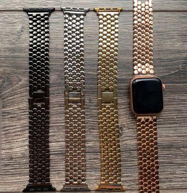 Браслет для смарт часов iwatch apple Бишкек. Размер 38/40/42/44    Sma
