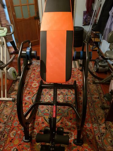 Инверсионный стол для спины, лечит грыжу. Грузоподъёмность 200кг