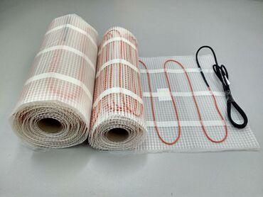 Электрический теплый пол. Нагревательные маты в стяжку и керамическую