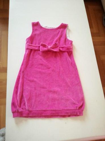 Haljina-sa-rukavotila-duzina-c - Srbija: Plisana haljina vel.8 Duzina 65cm