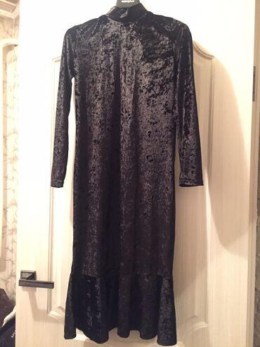 вечернее платье из франции в Кыргызстан: Велюровое платье, обтягивающее длинна французская классно сидит по