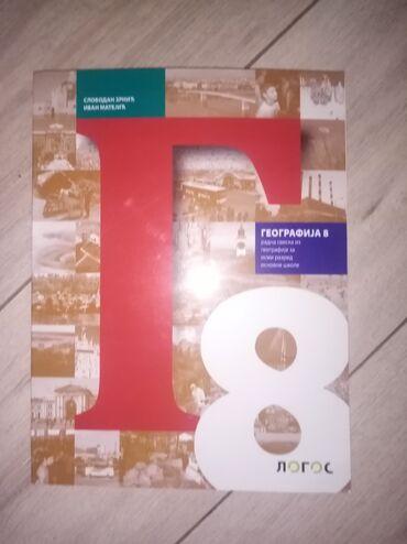 Knjige, časopisi, CD i DVD | Smederevska Palanka: Geografija-radna sveska za osmi razred. Izdavač:LOGOS
