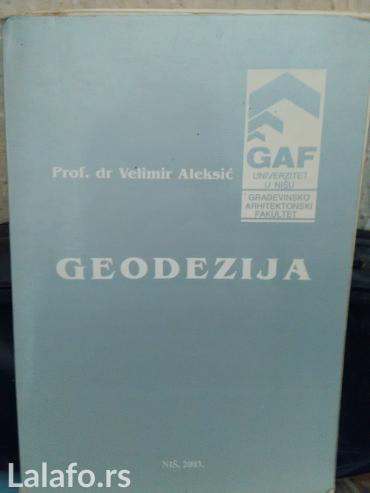 Knjige, časopisi, CD i DVD   Krusevac: Geodezija građevinsko arhitektonski fakultet