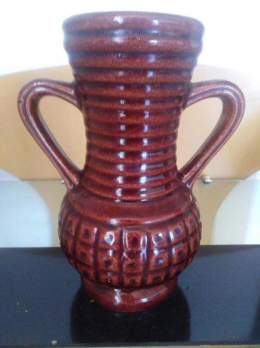 Antikvarne vaze   Srbija: Keramička vaza-ćup dim 21cm. retkost.vrlo povoljno. Slanje