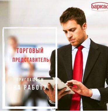 Работа - Кыргызстан: Торговый агент. Без транспорта. 1-2 года опыта. Полный рабочий день. Ошский рынок