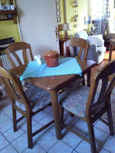 Komplet samo za ozbiljne kupce,stolice imaju garanciju na sebi od 10 - Sombor