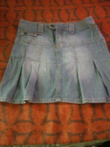 Ženska odeća   Sremska Kamenica: Texas suknja,tom tailor,vel 36