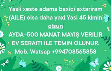 Dayələr, xəstə baxıcıları Azərbaycanda: Dayələr, xəstə baxıcıları