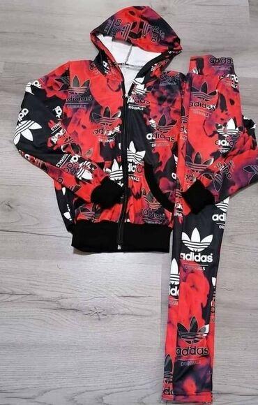 Adidas duksevi - Backa Topola: Adidas trenerka - komplet cena decijeg 1800din, cena za odrasle