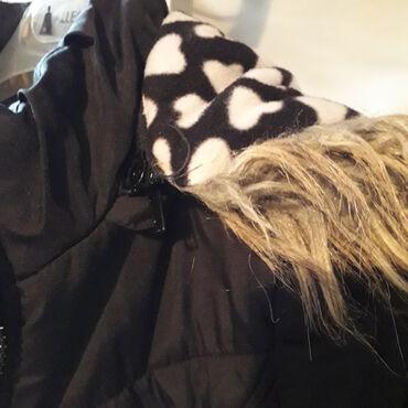 Zimska jakna crna sa cicom 6  Jakna za devojcice, Doll House marke, Ja