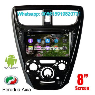 Perodua Axia Android Car Radio WIFI DVD GPS navigation camera in Kathmandu