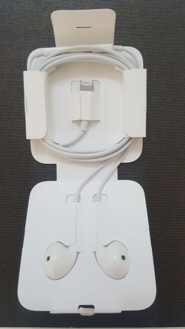 оригинальные расходные материалы 50 набор стержней в Кыргызстан: Оригинальные!!! Earpods от 11 IPhone!!! Новый не распакованные