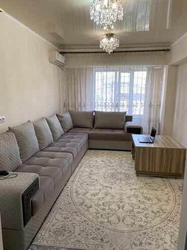 Продажа квартир - 3 комнаты - Бишкек: Индивидуалка, 3 комнаты, 69 кв. м Теплый пол, Бронированные двери, Видеонаблюдение