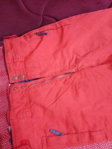 Crvene zenske ski pantalone, marke Everest vel. 44/46, postavljene, - Novi Pazar