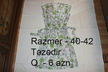 Bakı şəhərində Paltar güpürlü 18 azn,2 dəfə qeynilib. 40-42 razmer