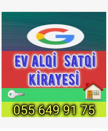 Emlak ev alqi satqi kiraye 550 azn icareye arendaya obyekt satdiq в Bakı