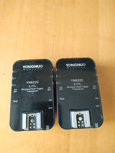 Фото и видеокамеры - Кыргызстан: Синхронизаторы yn 622c e-ttl поддерживает высокоскоростную съемку