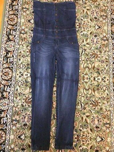 брюки джинсы комбинезоны в Азербайджан: Новый комбинезон! Ни разу не надели. Покупали в Турции в бутике. 40-42