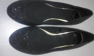Baletanke, obuvene samo po kuci, br.37, svetlucave, Bershka. Gaziste - Obrenovac