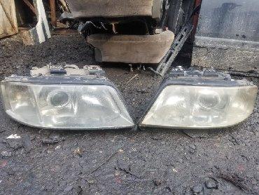 audi 100 2 2 мт в Кыргызстан: Рестайловые фары Audi A6 горбатая фары на Audi фары на Audi A6