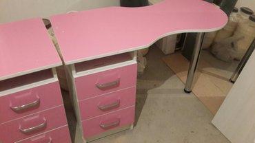 Маникюрные столы в наличии и на заказ в Бишкек