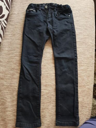 Dečije Farmerke i Pantalone | Negotin: Muske pantalone teget,vel.134