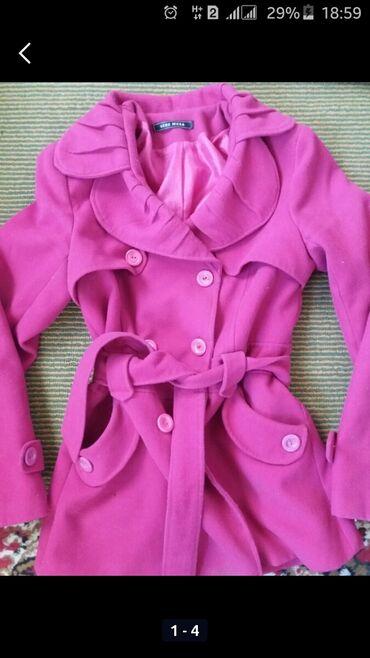 Хонор 9 х цена в бишкеке - Кыргызстан: Пальто розовое на 9-11 лет. Серое пальто на девочку 1-4года. Цена 50