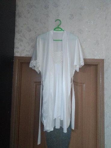 Домашние костюмы - Кыргызстан: Продам красивый, нежный пеньюар. Производство Корея. Размер подойдёт