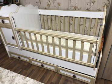 Продам детскую кроватку!!(в отличном состоянии)Малышковая кроватка с