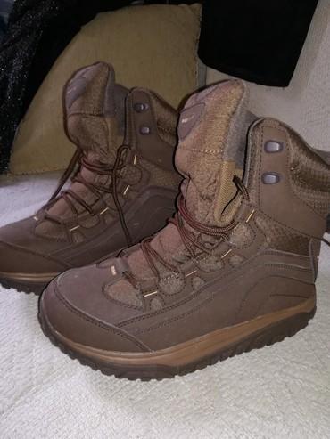 Zenske duboke cipele kozne placene 6.800 jednom obuvene male mi. br.37