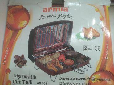 yeni doğulmuşlar üçün pijamalar - Azərbaycan: Türkiyə istehsalı olan ARMIA firmasına məxsus elektrik Barbekü manqal