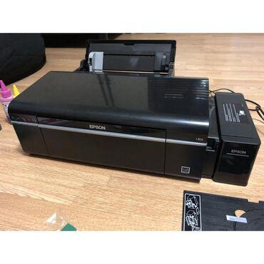 Принтеры в Бишкек: 6-ти цветный фото принтер Epson L805. Заводская донорка/снпч. Wi-Fi