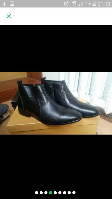 Обувь 38 размер мужской кожаный .цена 2200с в Бишкек