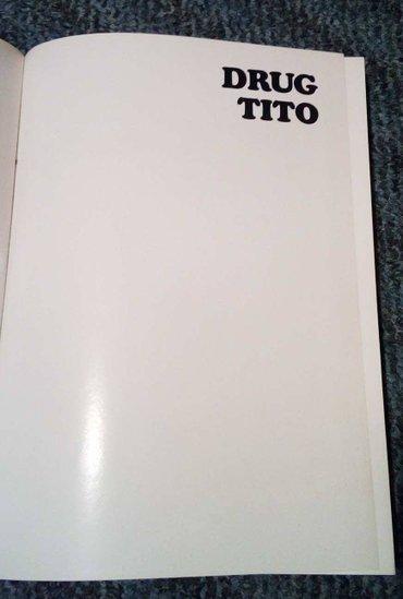 """Knjiga  """"drug tito"""" tvrd povez, formata 25x34cm, 406 strana, u - Majdanpek"""
