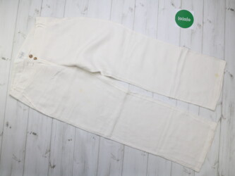 Женские льняные брюки, р. М   Длина штанины: 101 см Шаг: 80 см Пояс: 4