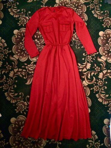 Срочно!!! Продаю новое платье!Плотный материал. Длина в пол. На талии