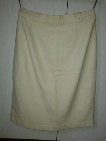 Predivna zimska suknja od 70%lambswol i kasmir30%,vel. 40 - Valjevo