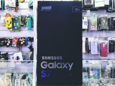 черное платье вышитое бисером в Кыргызстан: Б/у Samsung Galaxy S7 Edge 32 ГБ Черный
