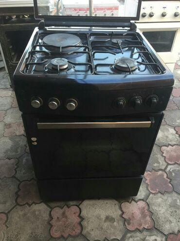 духовка плита в Кыргызстан: Газ плита 3/1 60/60 сантиметров на газбаллон. Могу на природный