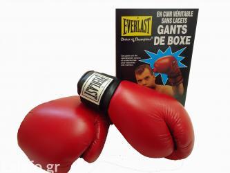 Γάντια box everlast αγώνων  καινουρια