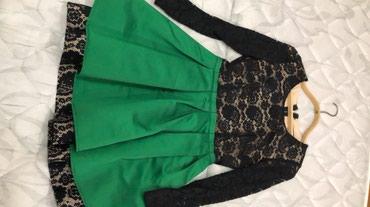 Продается платье почти новое. Было 1 раз надето. Размер 42. в Бишкек