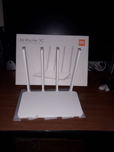 Xiaomi router mi 3C global version High 4 antenna 300mbps fiber optic в Bakı