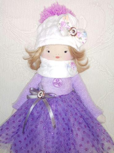 Детская текстильная игрушка кукла ручной работы в Бишкек