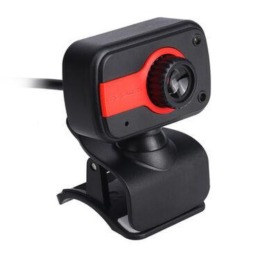 веб камеры 1280x1024 в Кыргызстан: Веб Camera красная USB 2.0+микрофон тип датчикаCMOSПиксель