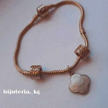 Красивый и модный браслет виде pandora! Очень красиво смотрится на