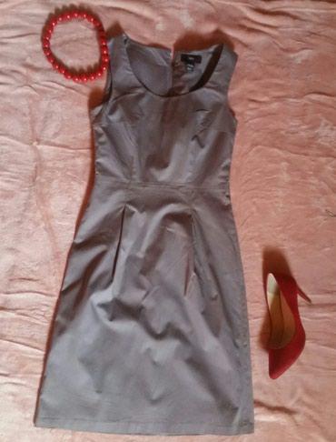 Siva HM haljina, kao nova. Odlican model i za posao i za elegantnije - Ruma