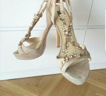 Cinti kozne sandale, broj 39, nosene jednom! - Beograd