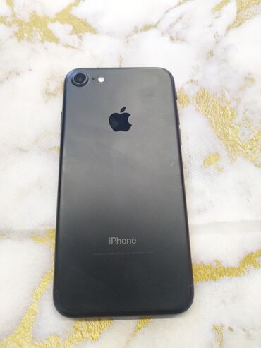 сколько стоит iphone в Кыргызстан: Б/У iPhone 7 32 ГБ Черный
