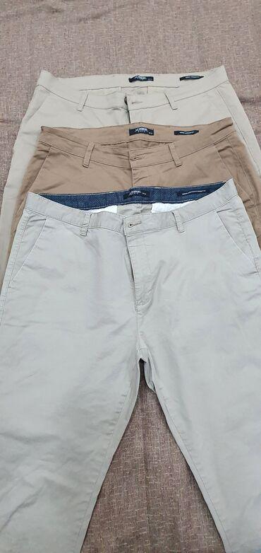 Продаю брюки мужские б/у.Размер 34(50-52), на рост около 175-177см